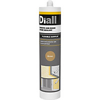 Diall Brown Frame Sealant, 300ml