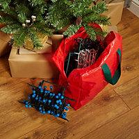 Red Christmas light storage set