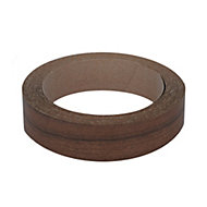 Walnut effect Edging tape, (L)5m (W)18mm