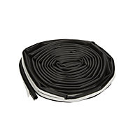 Diall Thermoplastic rubber Self adhesive Draught seal, (L)6000mm