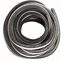Diall Grey Self-adhesive Draught seal (L)20m