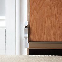 Diall Bronze effect Automatic draught excluder (L)1000mm
