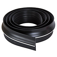 Diall Black Garage Draught seal (L)2.5m