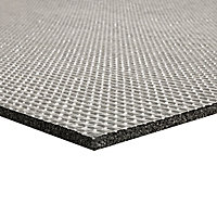 Diall Thermal Self-adhesive Foam Garage Insulation tile (L)500mm (W)500mm (T)5mm, Pack of 20