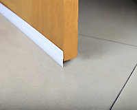 Diall White PVC Self-adhesive Draught excluder, (L)1m