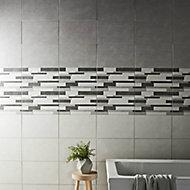Cimenti Grey Matt Ceramic Wall tile, (L)400mm (W)250mm, Sample