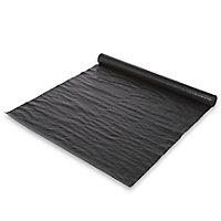 Verve Black Polypropylene Weed control fabric, (L)10m (W)1m