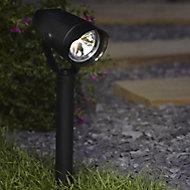 Blooma Weyburn Matt Black LED Spike light