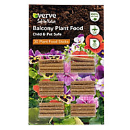Verve Balcony & bedding Plant feed Sticks, Pack of 30