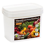 Verve Salad & vegetables Plant feed Granules 5kg