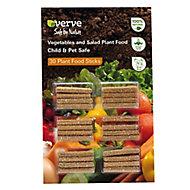 Verve Vegetable Plant feed Sticks, Pack of 30