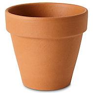 Laleh Terracotta Plant pot (Dia)13.1cm