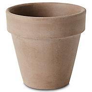Laleh Brown Terracotta Plant pot (Dia)11.2cm