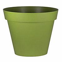 Nurgul Glazed Green Plastic Plant pot (Dia)100cm