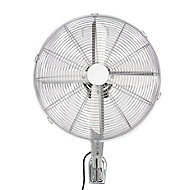 "Blyss 16"" 3-Speed Wall fan with remote"