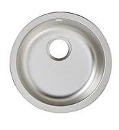 Cooke & Lewis Hurston Inox Stainless steel 1 Bowl Sink