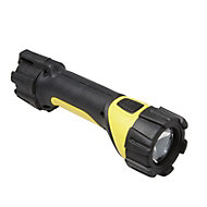 Diall 50lm Plastic LED Black & yellow Torch