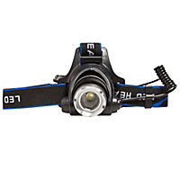 Diall 300lm LED Head light