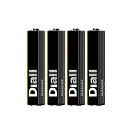 Diall Non rechargeable AAA Battery, Pack of 4
