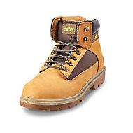 Site Quartz Honey Safety boots, Size 10
