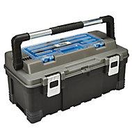 "Mac Allister 22"" Plastic Toolbox"