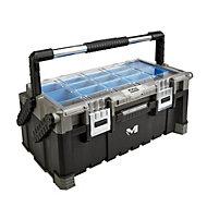 """Mac Allister 22"""" Plastic Cantilever toolbox"""