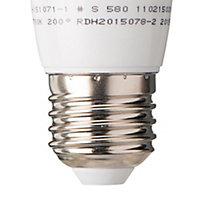 Diall E27 5.5W 470lm Mini globe LED Light bulb