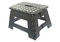 1 tread Plastic Foldable Step stool (H)0.22m