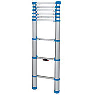 Mac Allister Extendable 8 tread Telescopic ladder