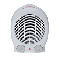 2000W White Freestanding Fan heater
