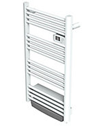 Blyss Kita 1500W Electric White Towel warmer (H)1030mm (W)560mm