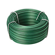Diall Steel & PVC Steel wire 1.2mm x 40m