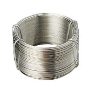 Diall Steel Steel wire 1.1mm x 50m