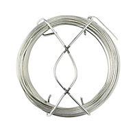 Diall Steel Steel wire 1.5mm x 30m