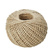 Diall Natural Jute Twine, (L)8.5m (Dia)1.2mm