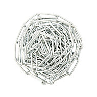 Diall Zinc-plated Steel Welded Chain, (L)2.5 (Dia)3.4mm