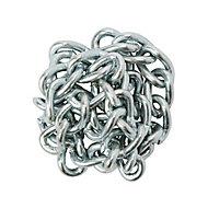 Diall Zinc-plated Steel Twist Signalling Chain, (L)2.5 (Dia)2mm