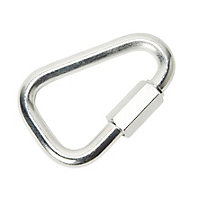 Diall Zinc-plated Steel Quick link (T)16mm