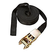 Diall Black 5m Ratchet tie down
