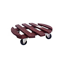 Diall Wooden Pot mover (Max. weight)150kg