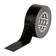 Diall Black Duct Tape (L)50m (W)50mm