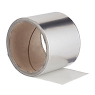 Diall Clear Aluminium tape (L)3.5m (W)47mm