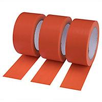 Diall Orange Repair tape (L)33m (W)50mm, Pack of 3