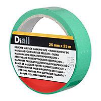 Diall Green Masking Tape (L)2.5m (W)25mm