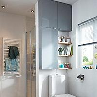GoodHome Hartland Bathroom worktop, (W)155mm