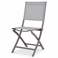 Batang Grey Metal Chair
