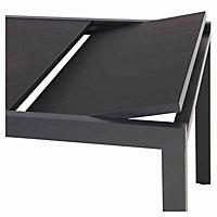 Sumatra Metal Extendable Dining Table