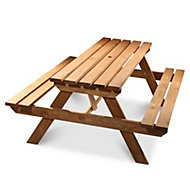 Agad Wooden 6 seater Picnic bench