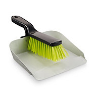Verve Dustpan & brush set, (W)220mm