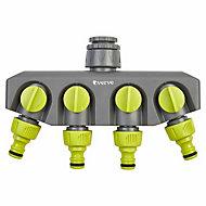 Verve 4 way tap adaptor